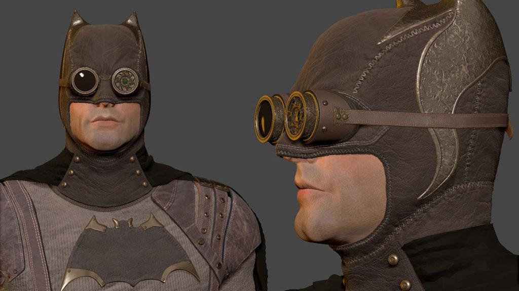 1887 Batman Steampunk Cape Crusader
