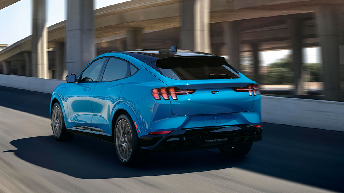 ford mustang mache is an allelectric mustang suv with