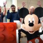 LEGO Celebrates <em>Mickey Mouse</em>'s Birthday With A 58,000-Piece LEGO <em>Mickey Mouse</em> Sculpture
