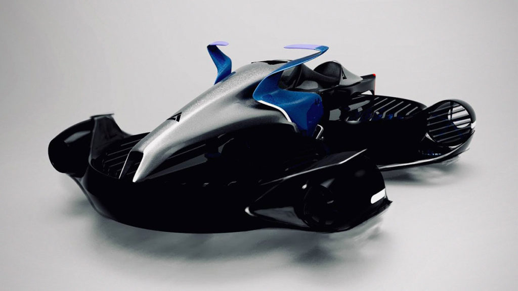 A.L.I. Technologies XTurismo Hoverbike