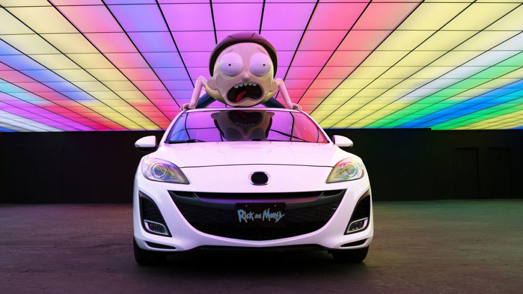 Adult Swim x Turo Mazda Mortymobile