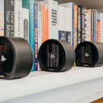 Air by Quirky Air Speaker Splits Up Into Five Wireless Speakers Like A Cut Swiss roll