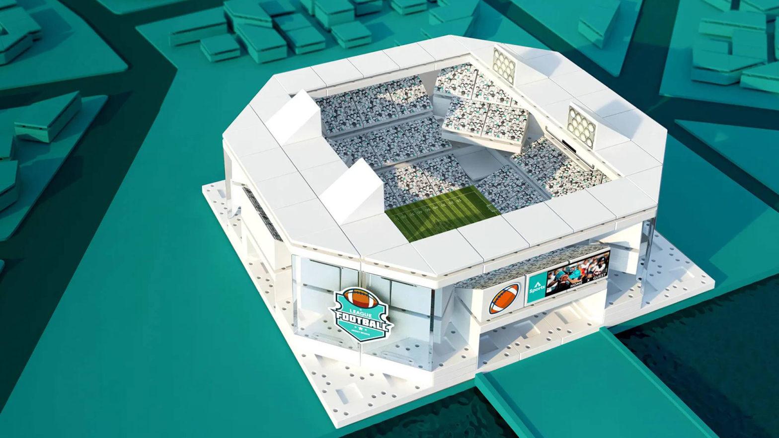 Arckit Multi-Stadium Model Building Kits