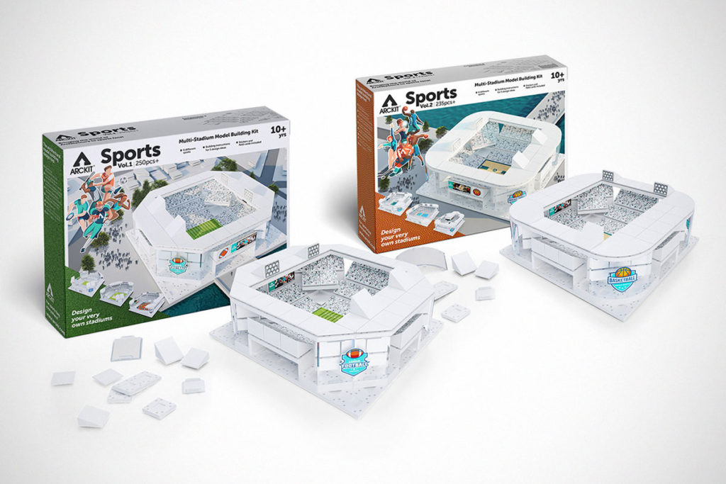 Arckit Multi-Stadium Model Building Kits