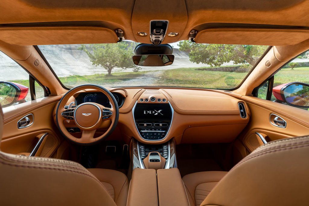 Aston Martin DBX SUV Unveiled