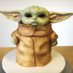 This Baby Yoda Cake Is So Adorable That You Won't Bear To Cut It, Let Alone Eating It