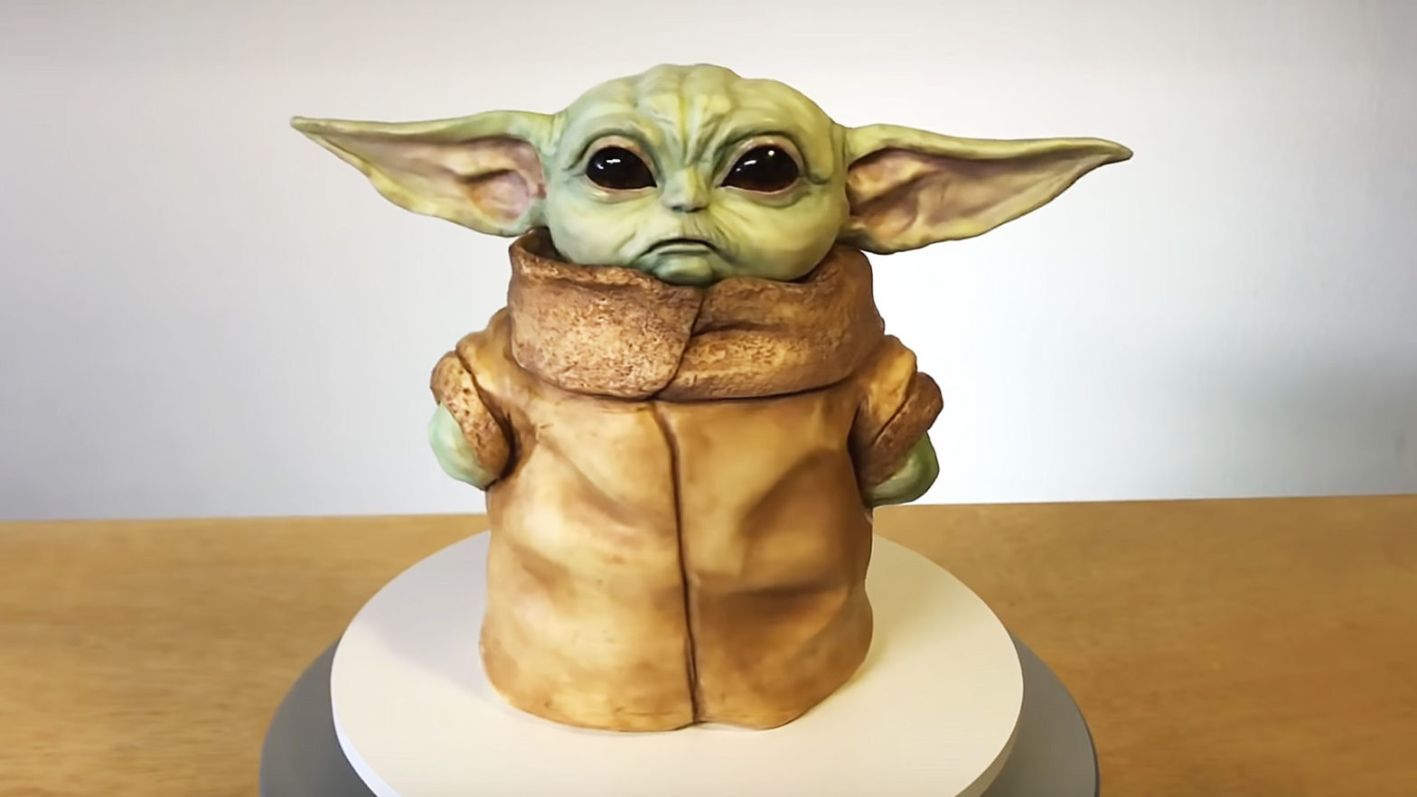 Baby Yoda Cake by Sideserf Cakes