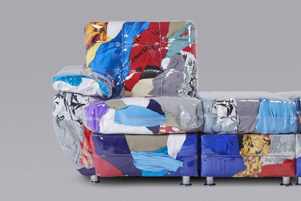 Balenciaga Sofa by Harry Nuriev