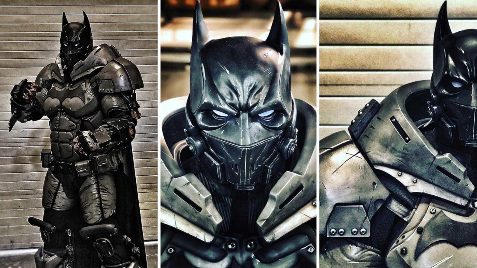 Batman XE Suit by Julian Checkley
