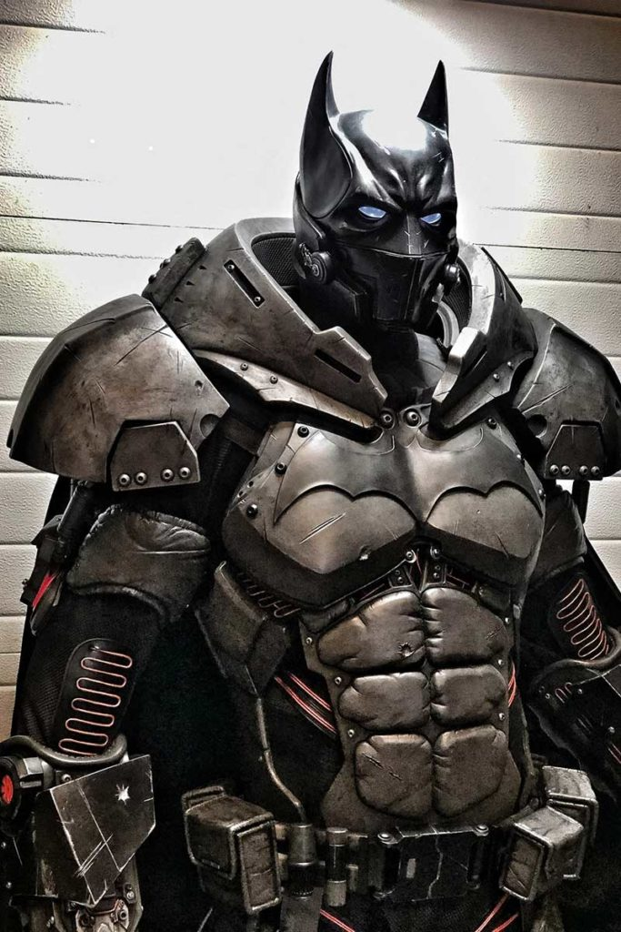 Batman XE Suit by Julian Checkley