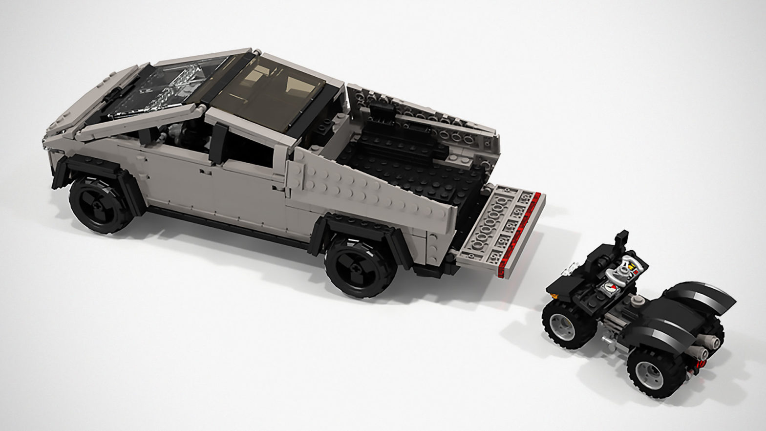 As It Turns Out, Tesla Cybertruck Makes For A Perfect LEGO ...