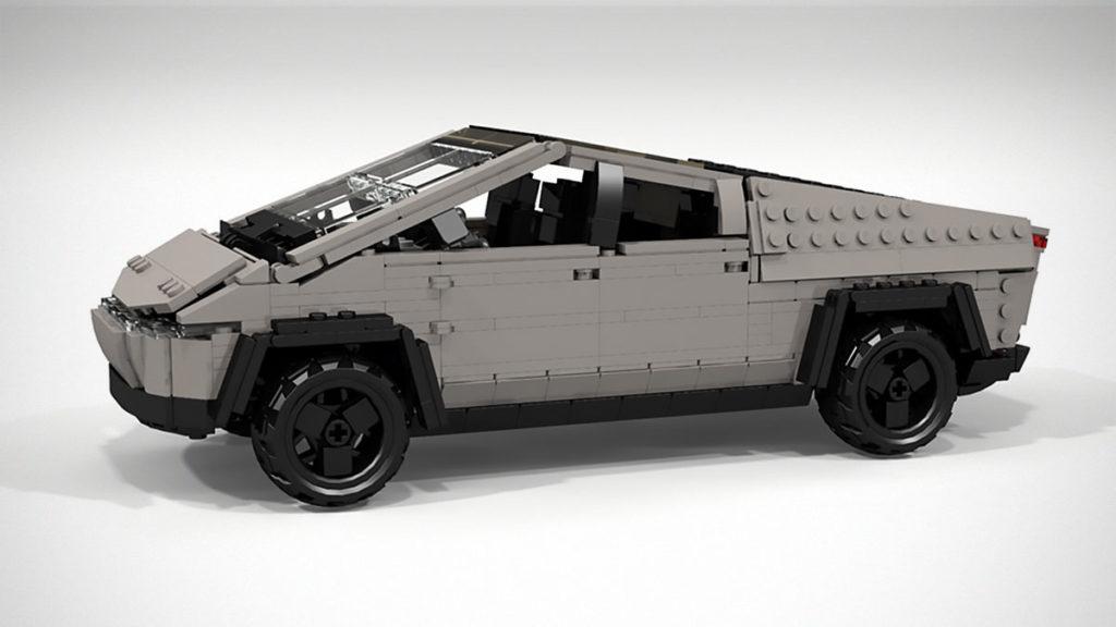 Custom LEGO Tesla Cybertruck
