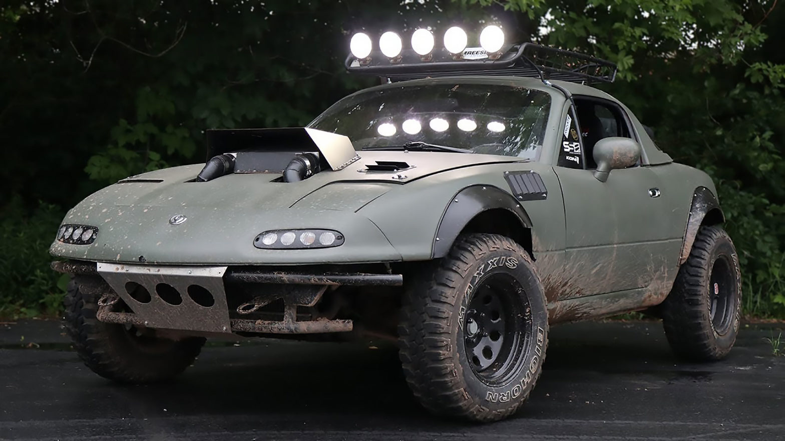 Custom Rally Miata by Gingium