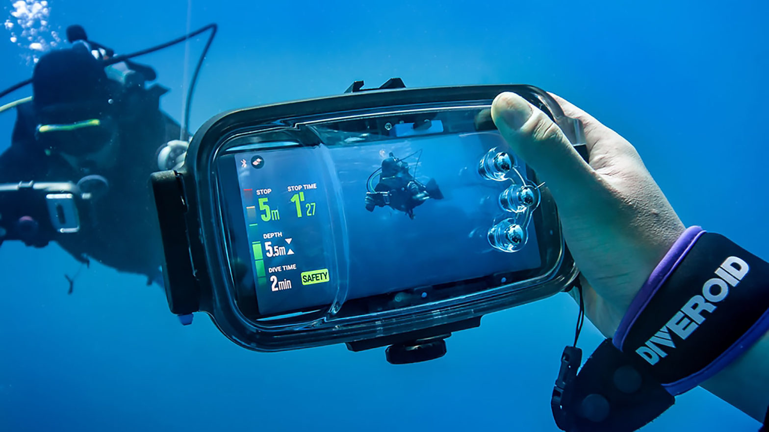 Diveroid Smartphone Dive Computer
