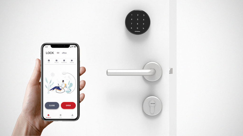 Gimdow Peel and Stick Smart Lock