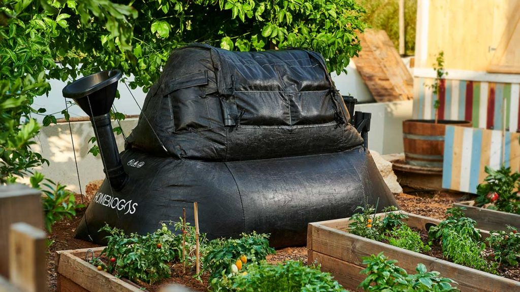 HomeBiogas Backyard Bio-digester