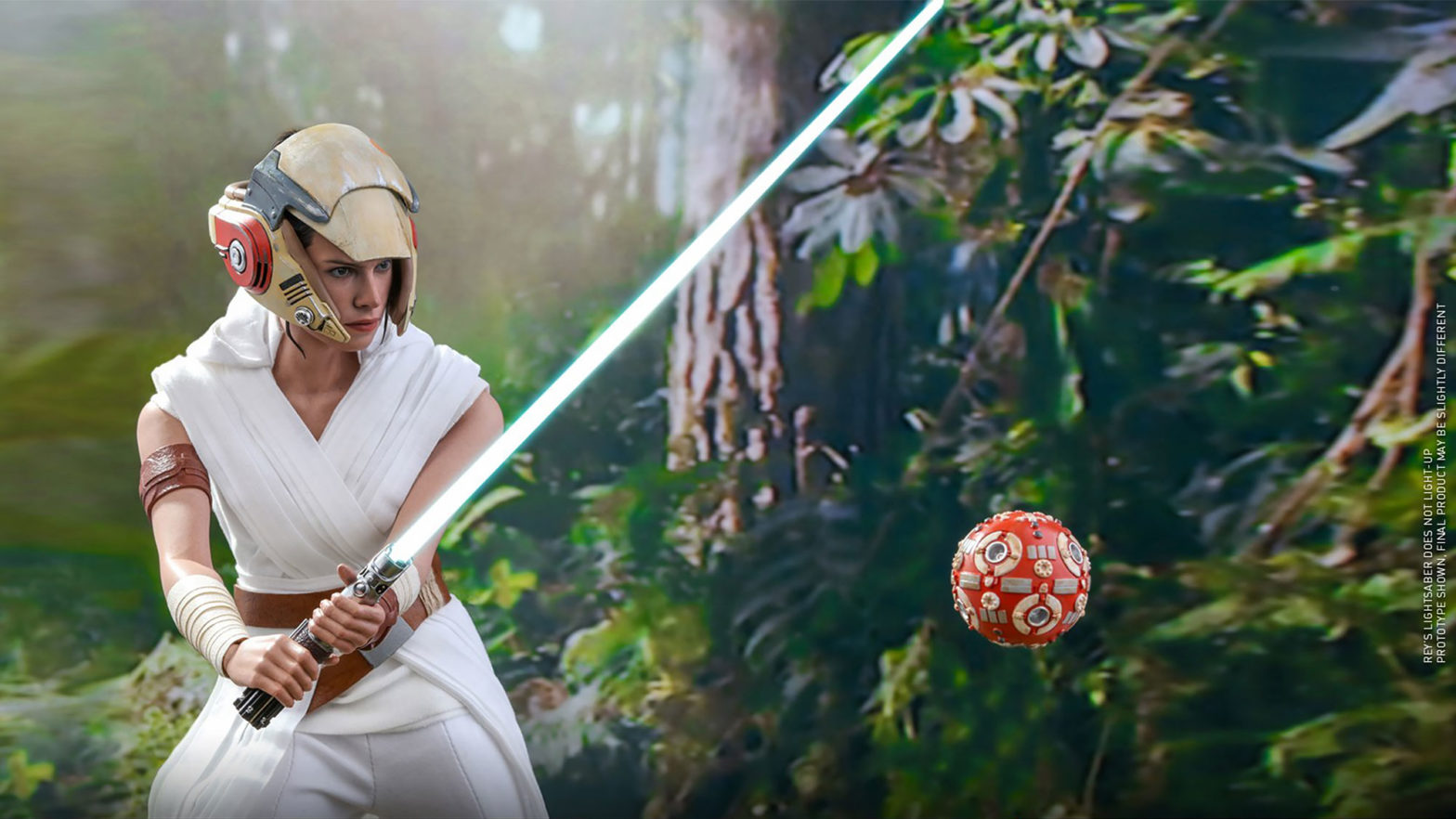Hot Toys Rey and D-0 1/6th Scale Collectible Figure