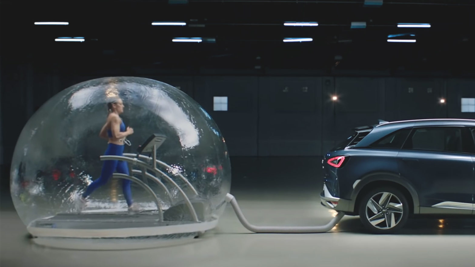 Hyundai Nexo Fuel Cell Car Ad