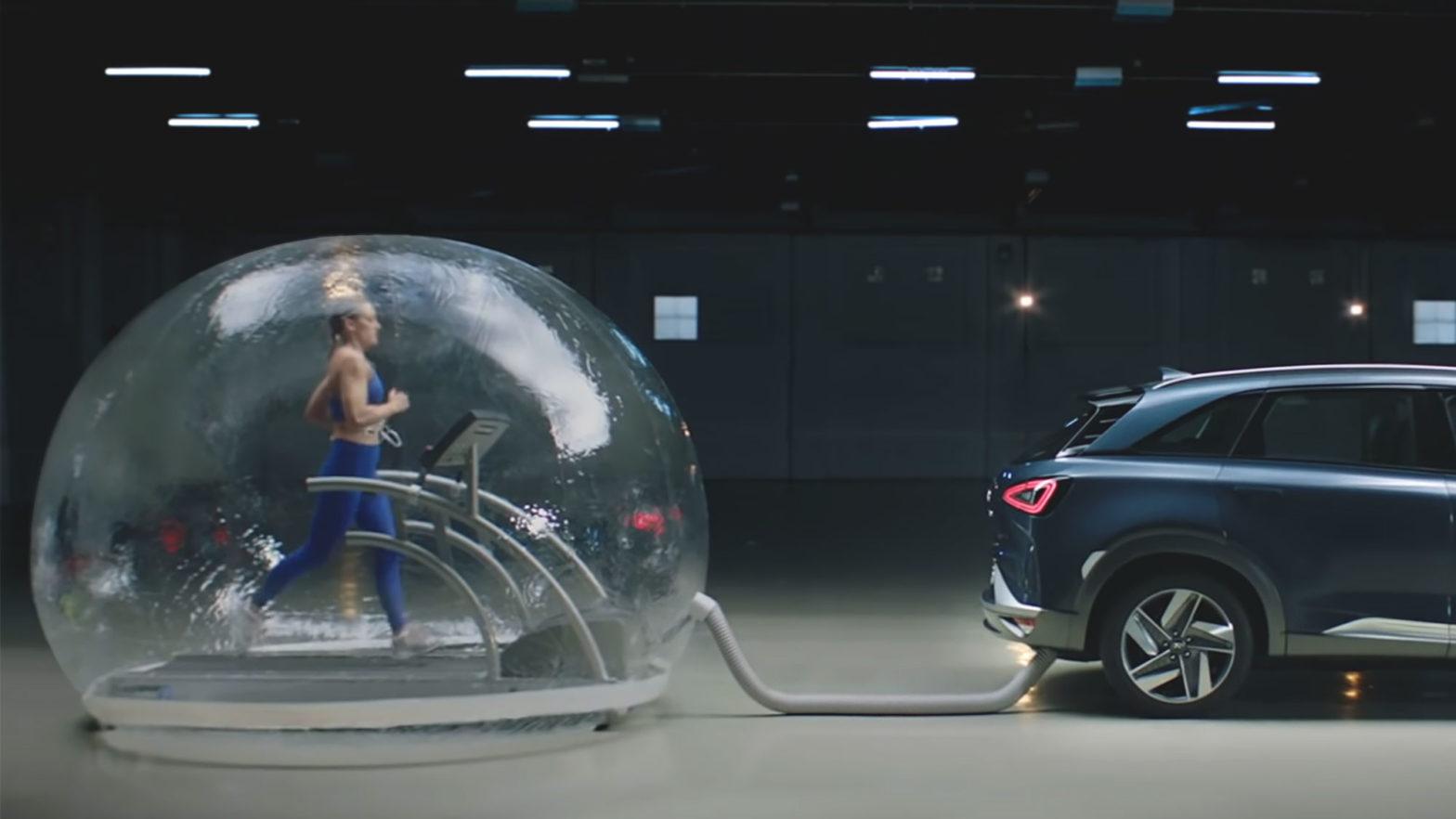 Hyundai Nexo Fuel Cell Car Ad