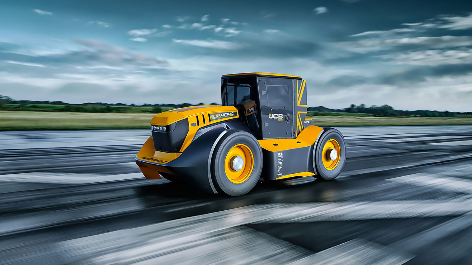 JCB World's Fastest Tractor Modified