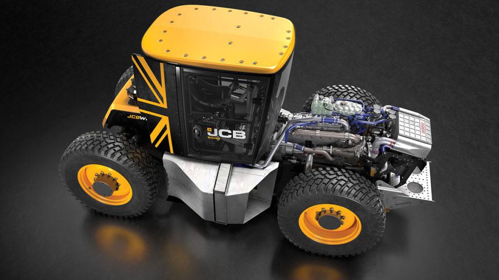 JCB World's Fastest Tractor Modified