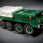 Believe It Or Not, This RC MAZ-535 8×8 Truck Is A LEGO Technic MOC