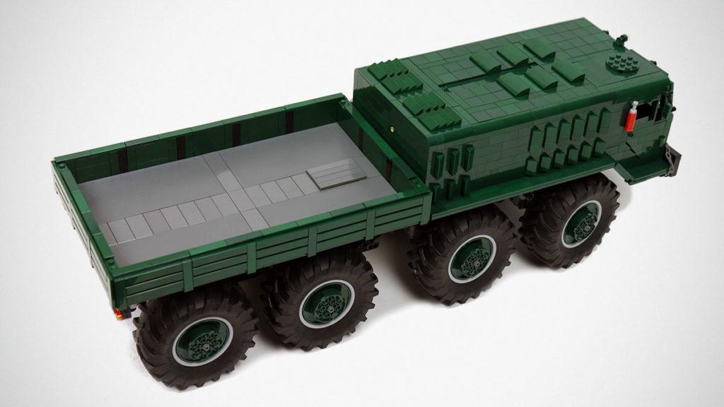 LEGO RC MAZ-535 8x8 Truck by Sariel