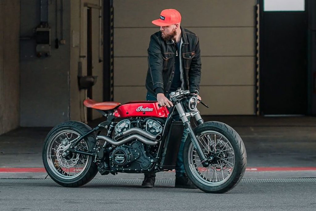 LM Creations Custom Indian Scout Bobber