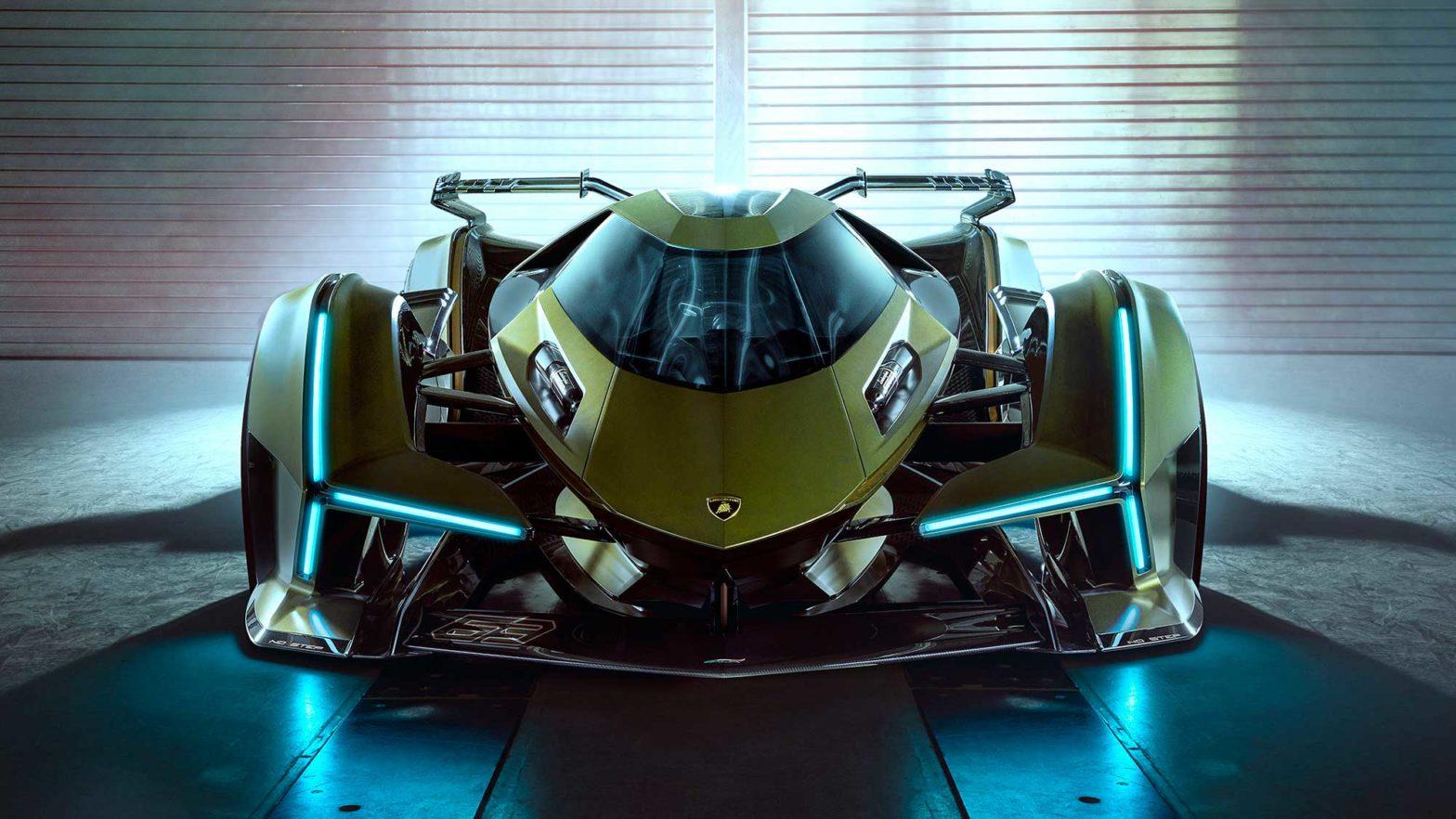 Lamborghini V12 Vision GT Supercar