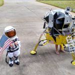 Lunar Module Costume: One Small Step For Kids, One Giant Leap For Halloween Costume