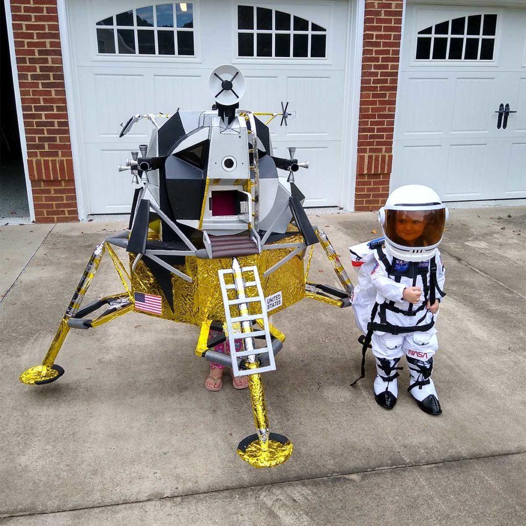 Lunar Module Halloween Costume