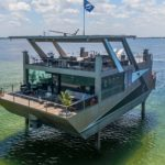 "Meet Cubic Yacht, A Sea-based Mansion That Props Up Above The Water With ""Stilts"""