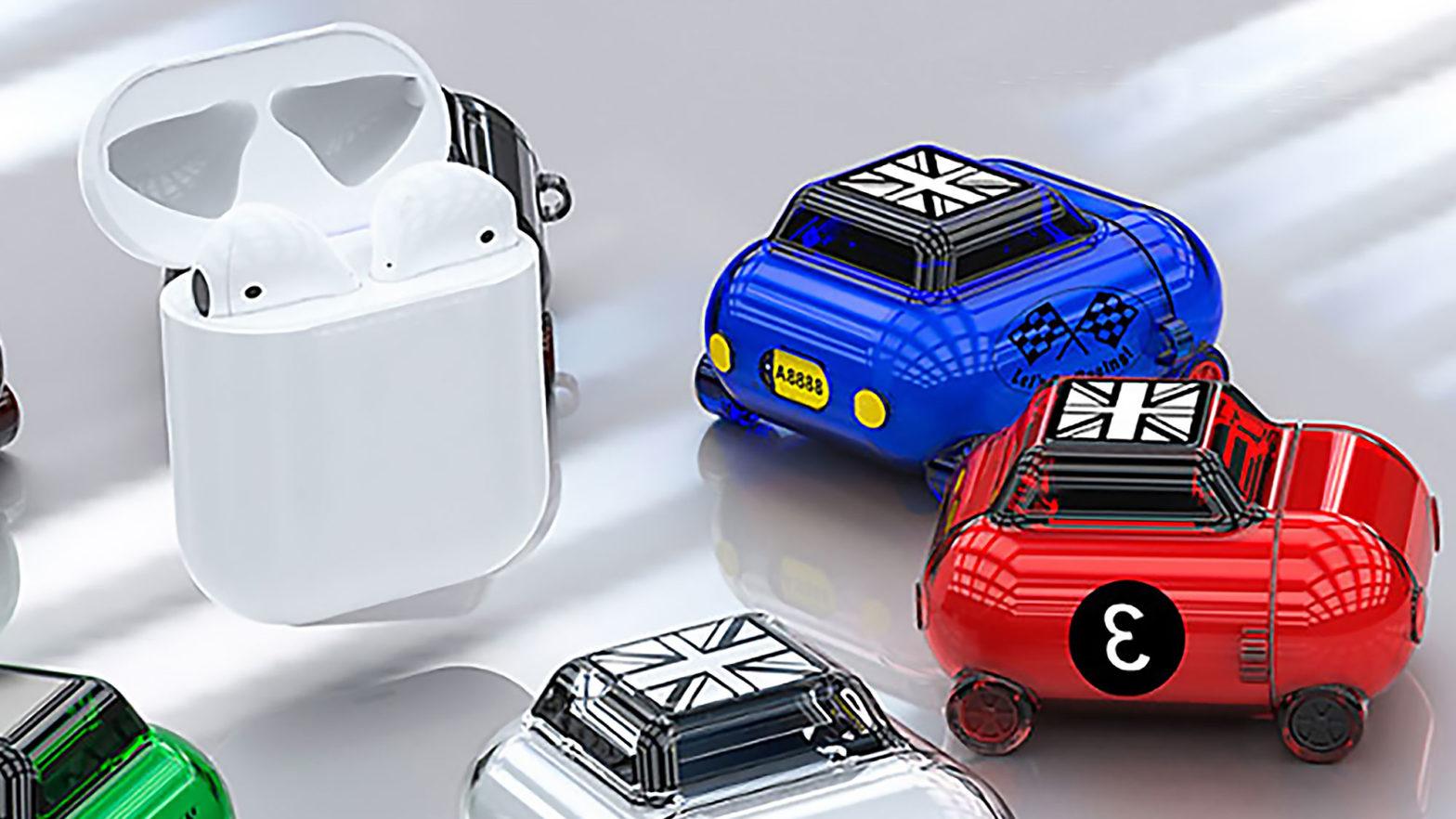 Mini Car AirPods Case