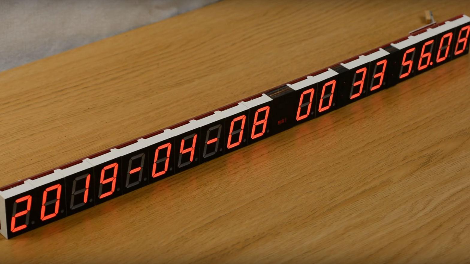 Mitxela Precision Clock Mk II1/2