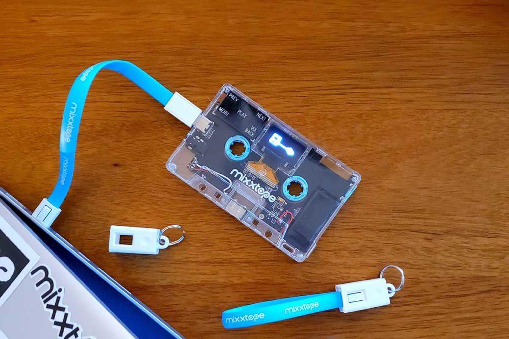Mixxim Mixxtape Cassette Tape MP3 Player