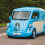 Morris J-Type Commercial Van Lives Again In All Its Retro Glory And As An Electric Vehicle