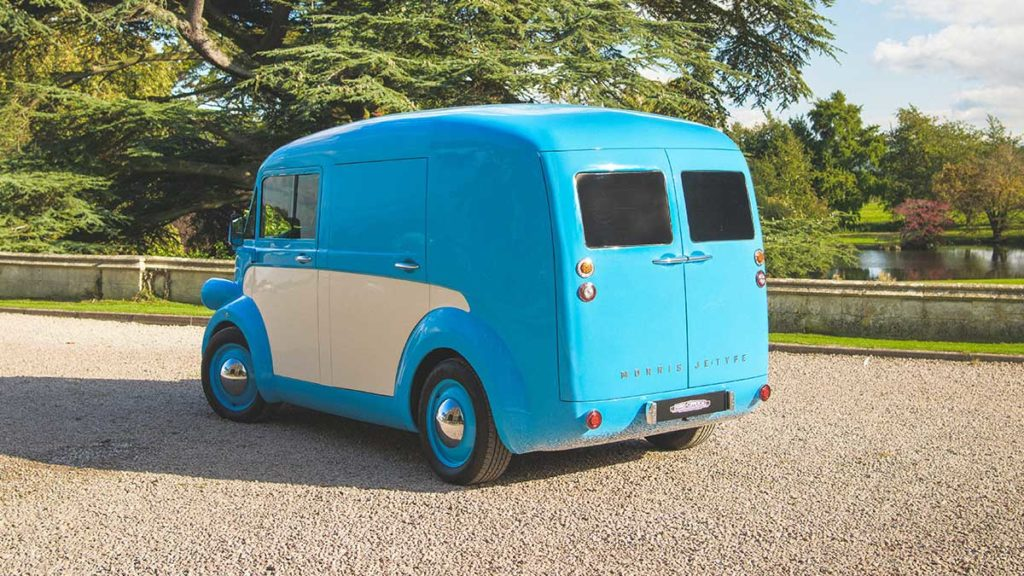 Morris JE Type Electric Commercial Vehicle