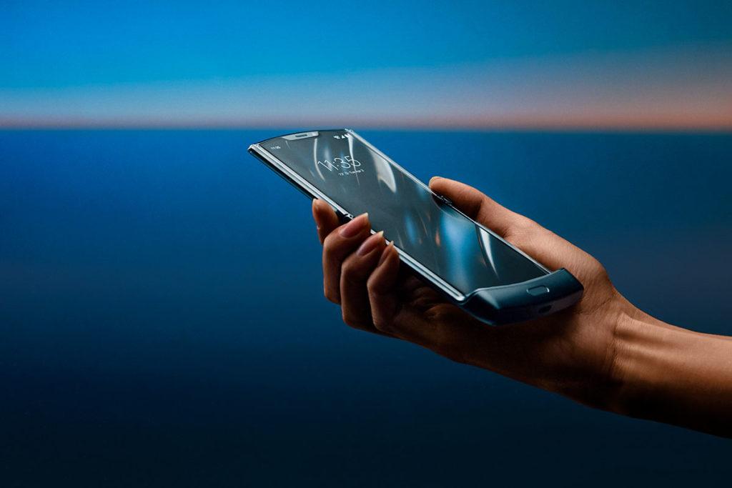 Motorola Razr Folding Smartphone