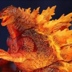 Bummer. NECA 2019 Burning <em>Godzilla</em> 12-inch Head-To-Tail Is A Target Exclusive