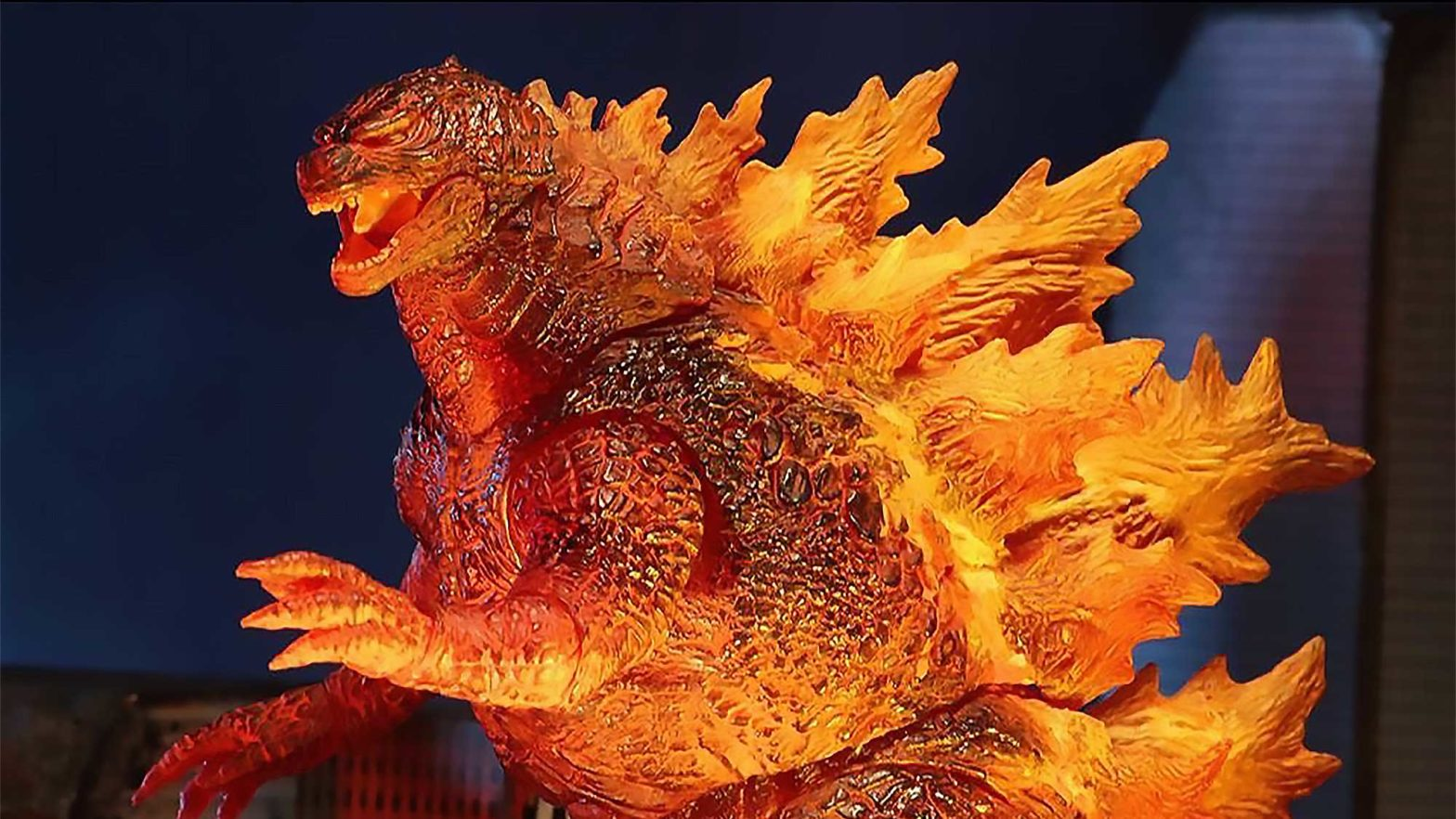 NECA 2019 Burning Godzilla Figure Target Exclusive