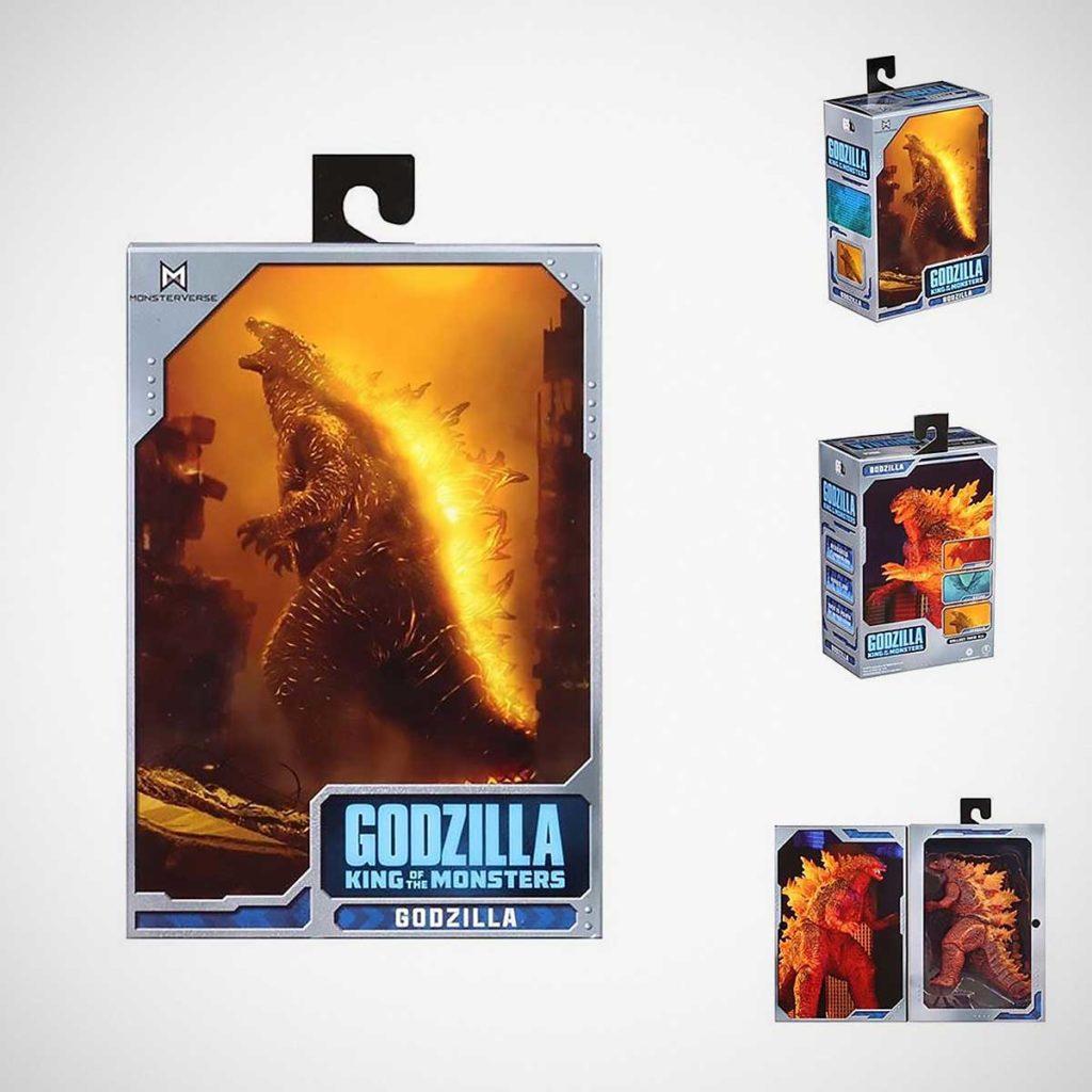 NECA 2019 Burning Godzilla Figure Target Exclusive