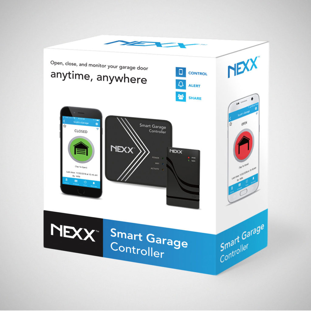 Nexx Smart WiFi Garage Door Controller