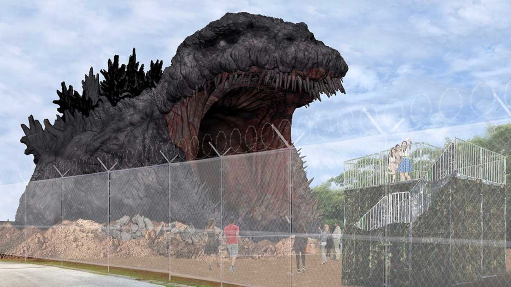 Nijigen No Mori Godzilla Experience