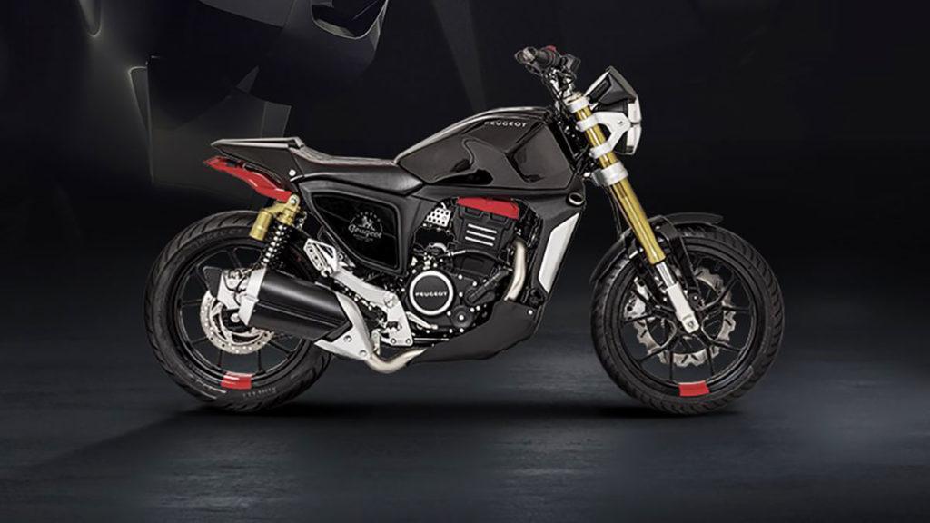 Peugeot Motorcycles P2X Concept