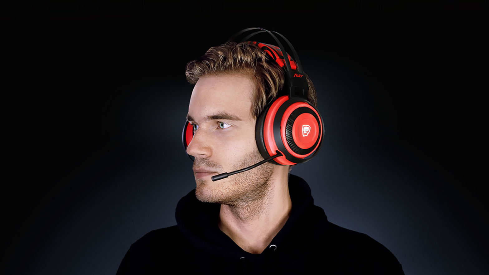 PewDiePie Razer Nari Ultimate Gaming Headphones