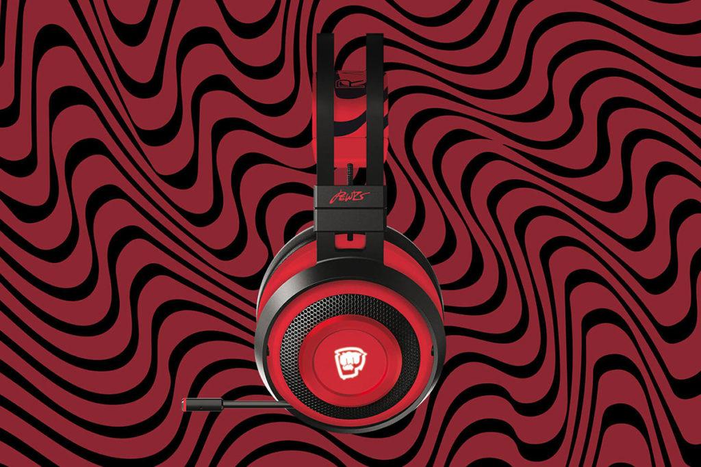 PewDiePie Razer Nari Ultimate Gaming Headphones