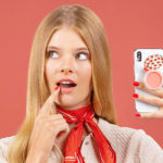 Phone Grip With Refillable Lip Balm Is A Perfect Gadget Accessory For On-The-Go Touch Ups