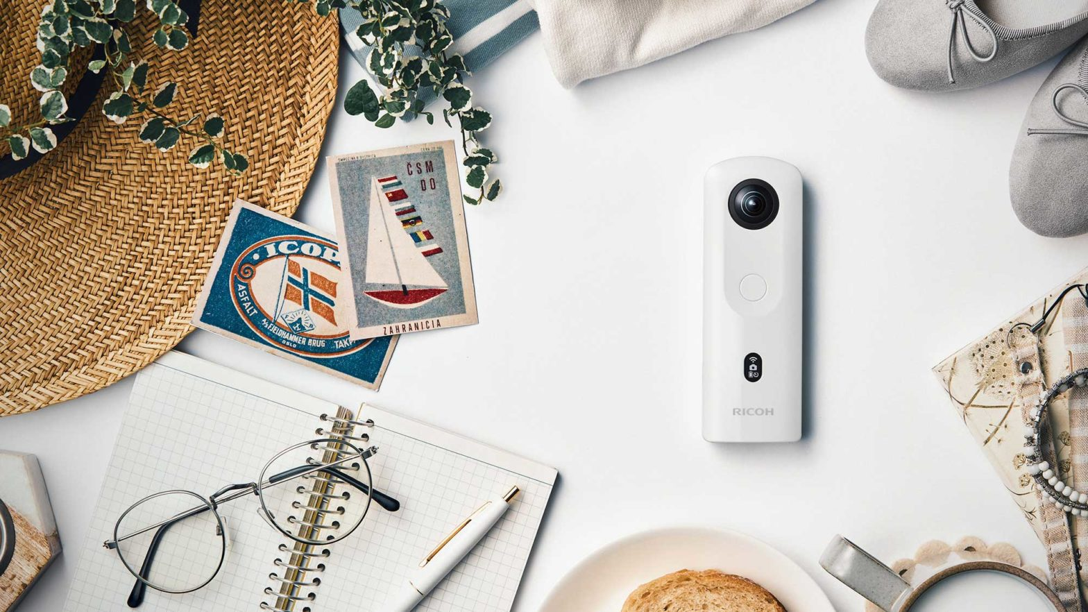 Ricoh Theta SC2 360-degree Camera