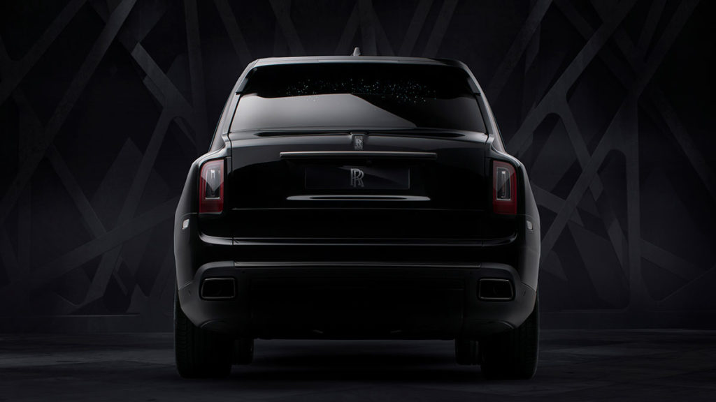 Rolls-Royce Black Badge Cullinan SUV