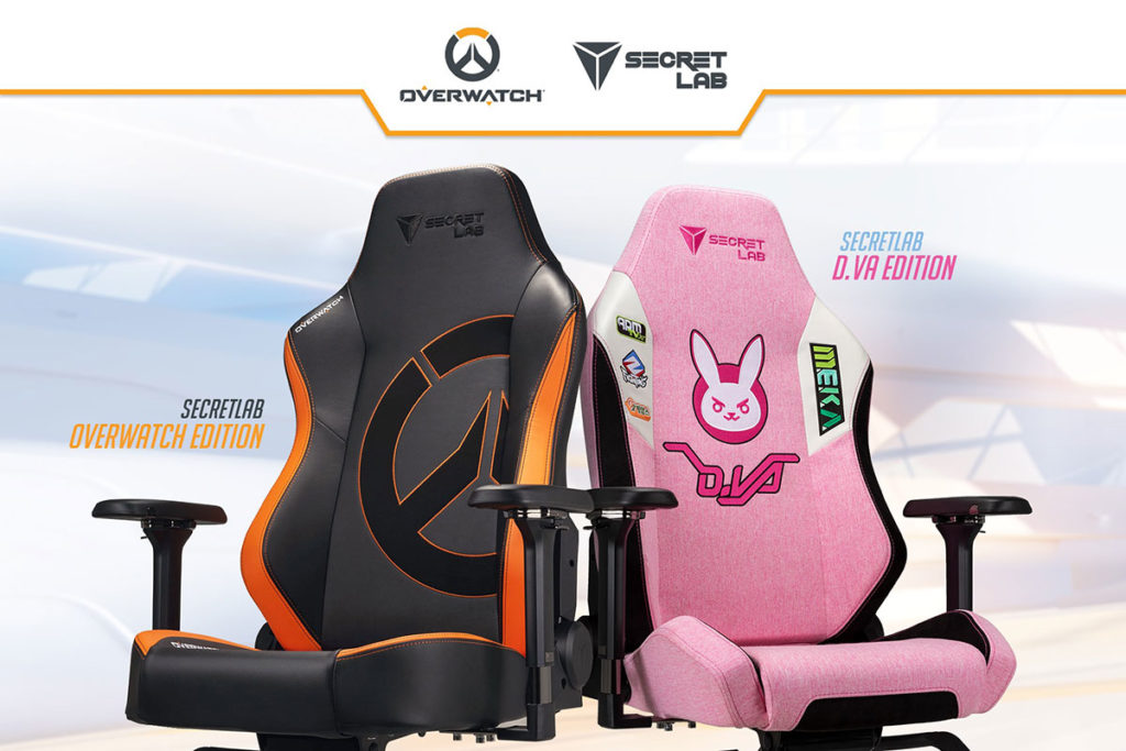 Secretlab Overwatch Edition Gaming Chairs